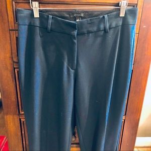 Ann Taylor SZ 6 Navy Blue straight leg trousers